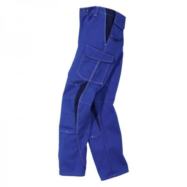 Kübler Hose Image-Dress new Design Form 2346 kornblau/dunkelblau