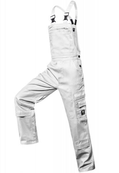 Shield Protect Cargo-Latzhose Plus weiß