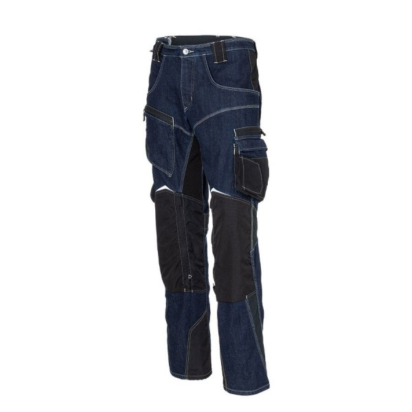 Kübler PRACTIQ Jeanshose dunkelblau/schwarz