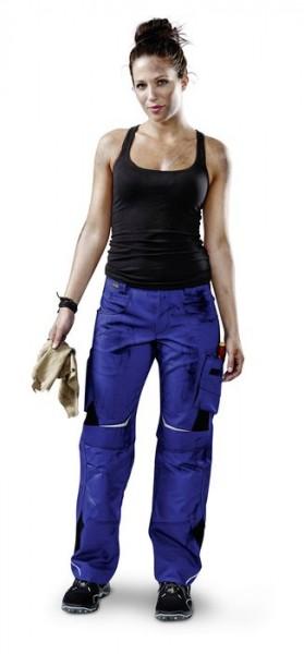 Kübler Pulsschlag Damenhose HIGH Form 2124 kornblau/schwarz