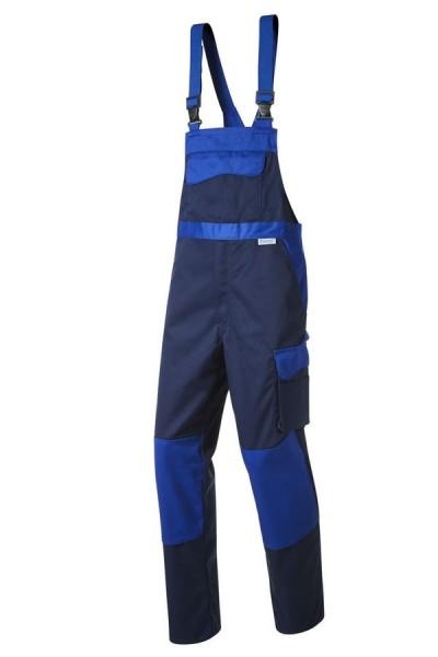 Pionier Workwear Color Wave Latzhose marine/kornblau