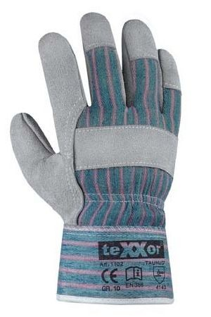texxor TOP Rindkernspaltleder-Handschuhe TAUNUS