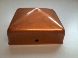 Intergard Pfostenkappe Pyramide Kupfer 71 x 71 mm