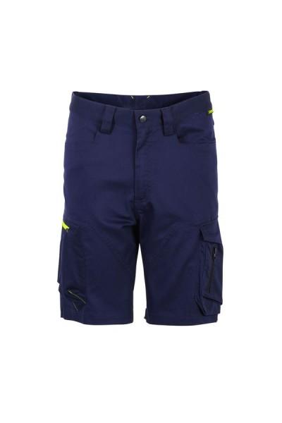 Planam Stretchline Shorts marine vorne