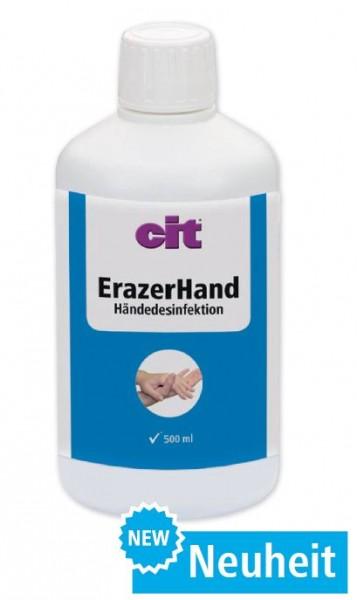 Kerbl Erazer Hand Händedesinfektionsmittel 500 ml Flasche