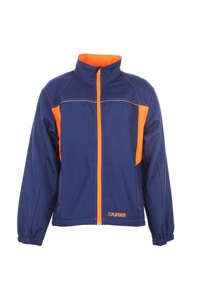 Planam Softshell-Jacke Basalt Neon marine/orange