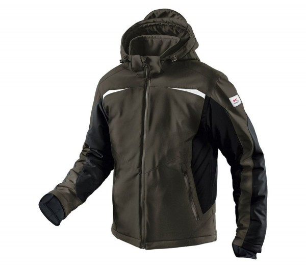 Kübler Winter Softshell Jacke Form 1041 oliv/schwarz