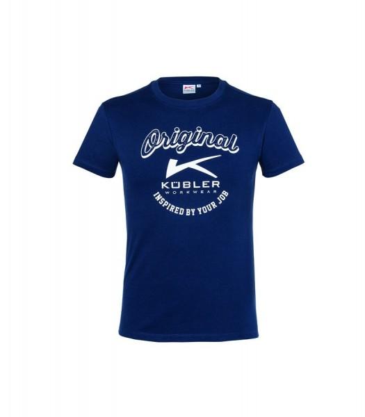 Kübler SHIRTS T-Shirt Print dunkelblau