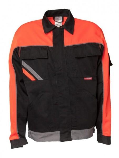 Planam Bundjacke V1 Visline schwarz/orange/zink