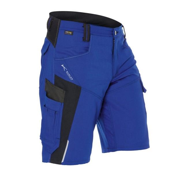 Kübler Bodyforce Shorts kornblau/schwarz