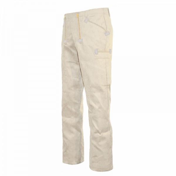 Eiko Zunfthose Classic aus Trenkercord weiß