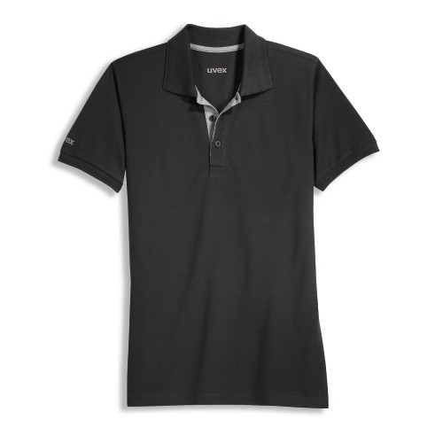 Uvex workwear Tencel Polo-Shirt Modell 8916 grau