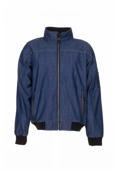Planam Outdoor Softshell Jeans Softshelljacke blau