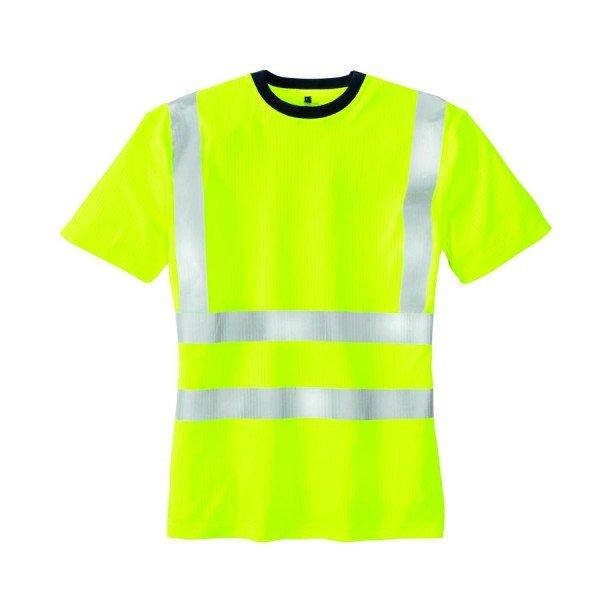 texxor Warnschutz-T-Shirt Hooge leuchtgelb