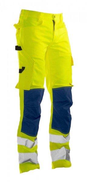 Jobman Warnschutz Bundhose 2378 gelb/marine