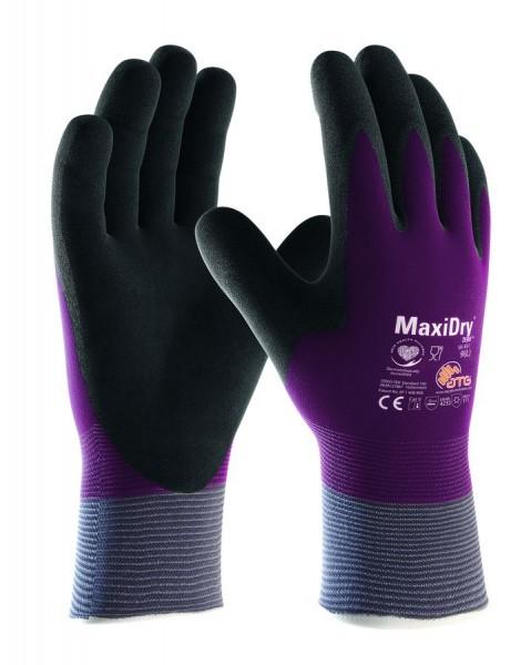 aTG MaxiDry Zero Nylon-Strickhandschuhe 2580 violett/schwarz