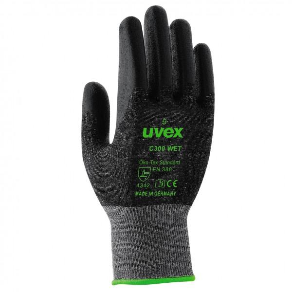 Uvex C300 wet Schmittschutzhandschuhe