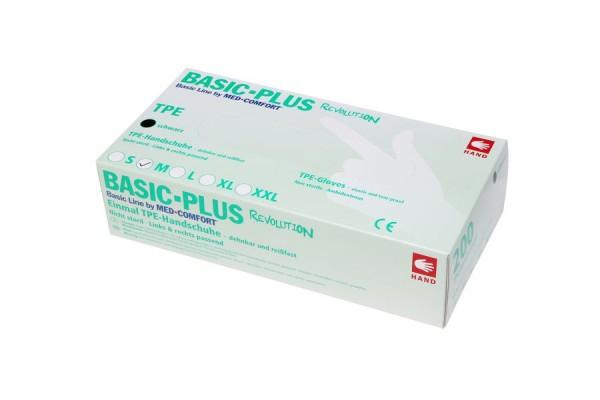 Ampri BASIC PLUS REVOLUTION TPE Einmalhandschuhe Box