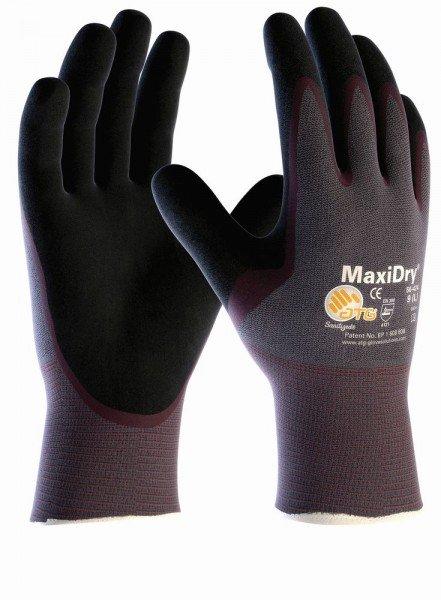 aTG MAXIDRY Handflächenbeschichtet Nitril-Handschuhe