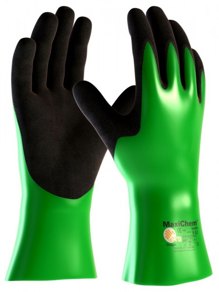 aTG MAXICHEM 30 cm Länge Chemikalienschutzhandschuhe