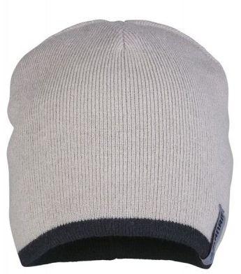 Planam Leichte Strickmütze 2-farbig stone/schwarz