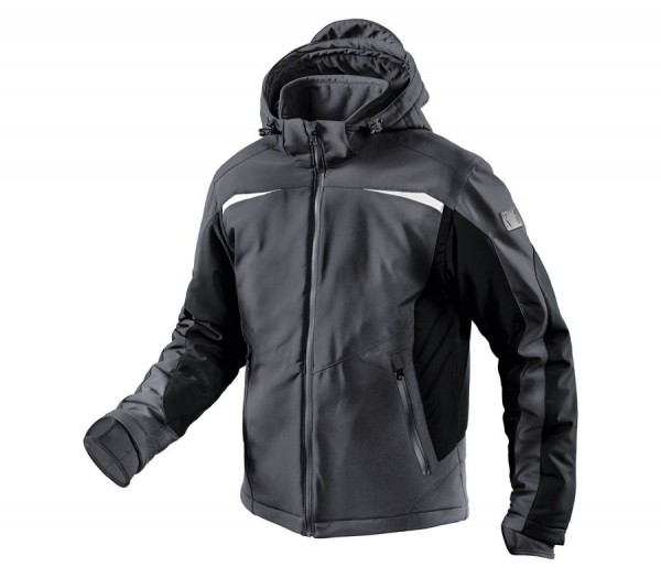 Kübler Winter Softshell Jacke Form 1041 anthratzit/schwarz