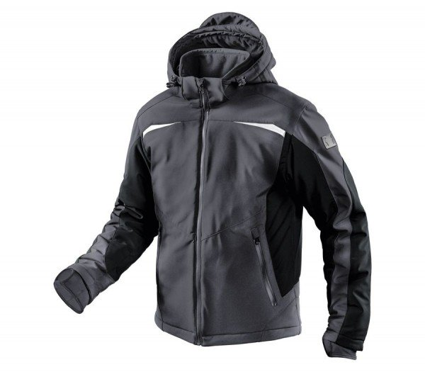 Kübler Winter Softshell Jacke Form 1041 anthratzit/schwarz