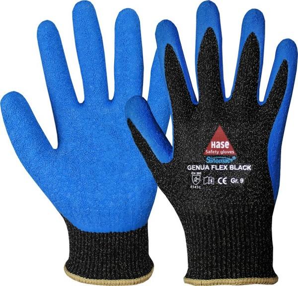 Hase Genua Flex Black Montage-/Schnittschutzhandschuhe