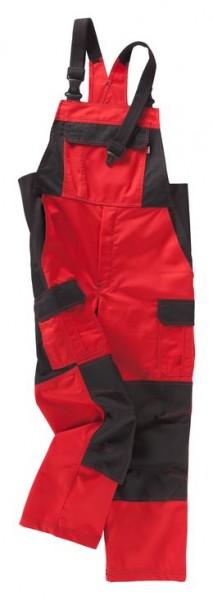 BEB Latzhose Premium rot/schwarz