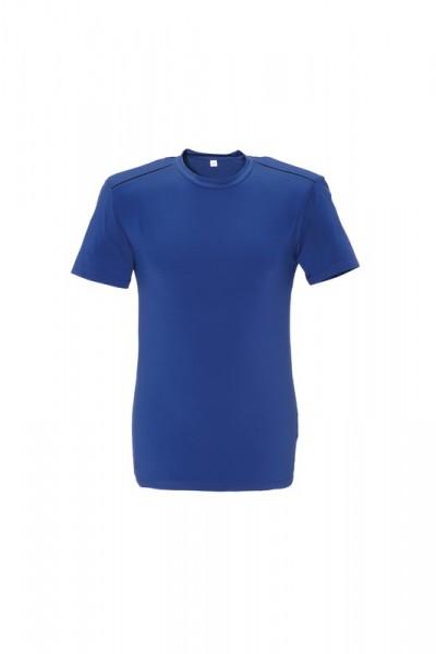 Planam T-Shirt DuraWork kornblau/schwarz Vorne
