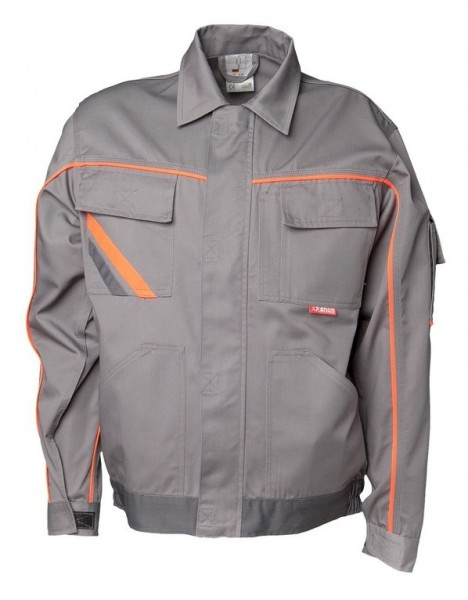 Planam Bundjacke V2 Visline zink/orange/schiefer
