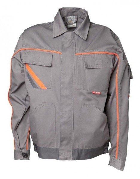 Planam Bundjacke V2 Visline zink/orange/schiefer