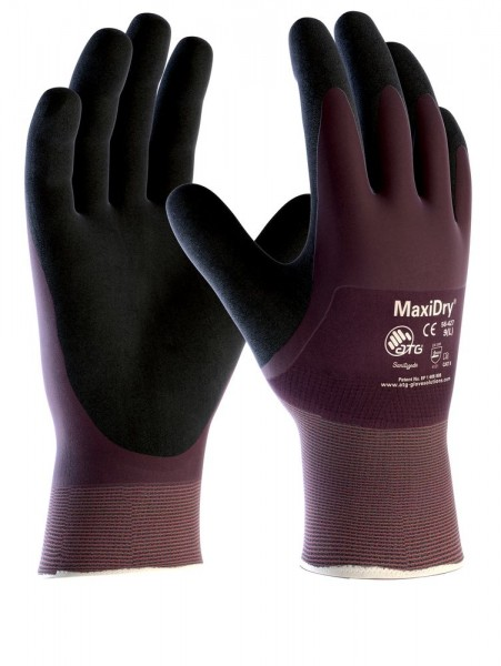 aTG Nitril-Handschuhe Maxi Dry, vollbeschichtet