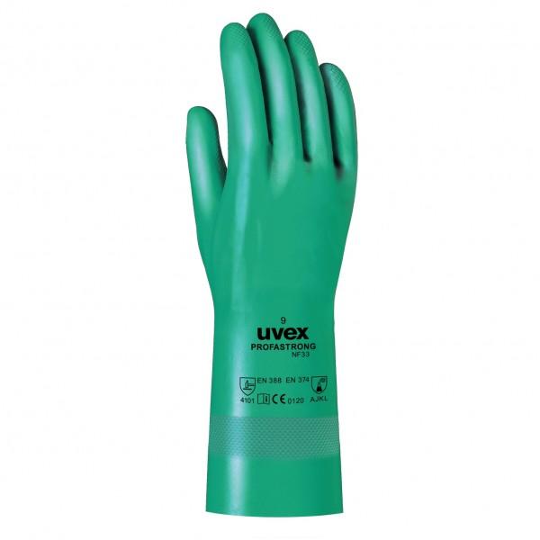 Uvex profastrong NF 33 Chemikalienschutzhandschuhe