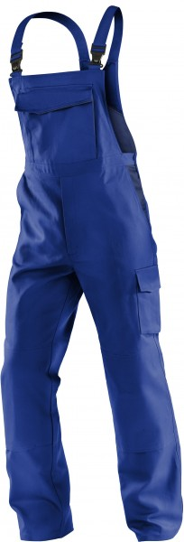 Kübler Latzhose IDENTiQ cotton Form 3044 kornblau/dunkelblau