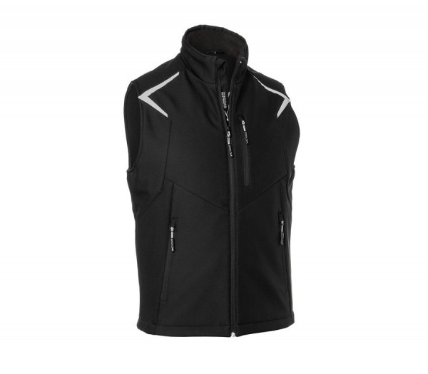 Kübler Bodyforce Softshell Weste schwarz
