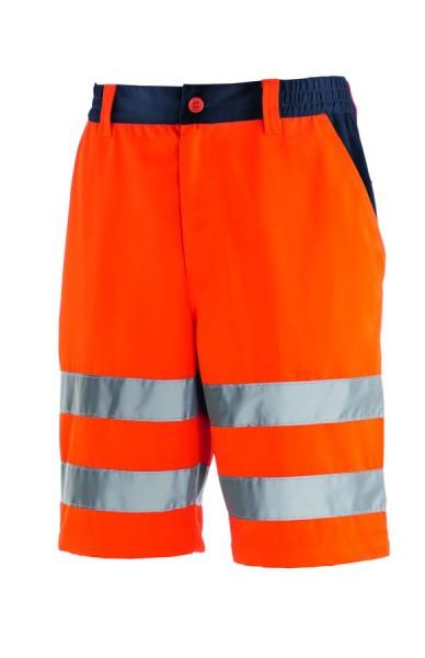 texxor Warnschutz-Shorts Erie leuchtorange/navy