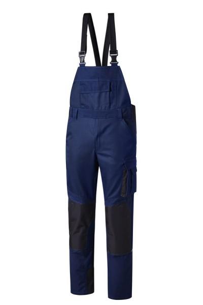 Pionier Workwear Concept Latzhose marineblau vorne