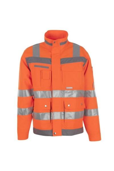 Planam Plaline Warnschutz Blouson orange/zink