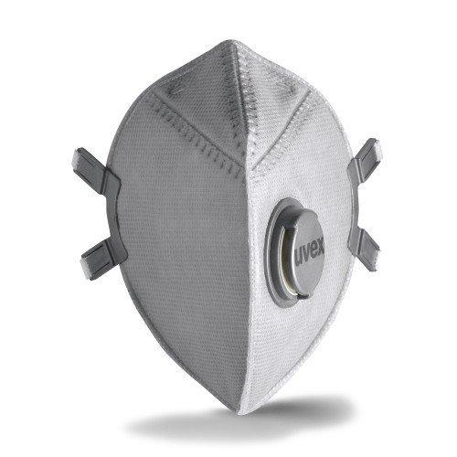 uvex silv-Air pro 8313 Atemschutzmaske - FFP 3