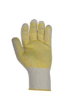 Mittelstrickhandschuhe aus Baumwolle und Nylon