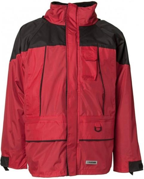 Planam Twister Jacke rot/schwarz