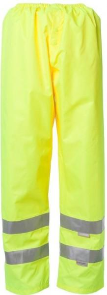 Planam Warnschutz Regen Hose Uni gelb