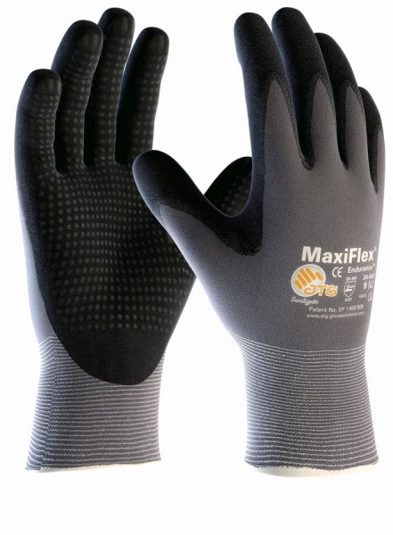 aTG MAXIFLEX Endurance Nylon-Strickhandschuhe