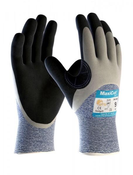 aTG MAXICUT Oil Schnittschutz-Strickhandschuhe