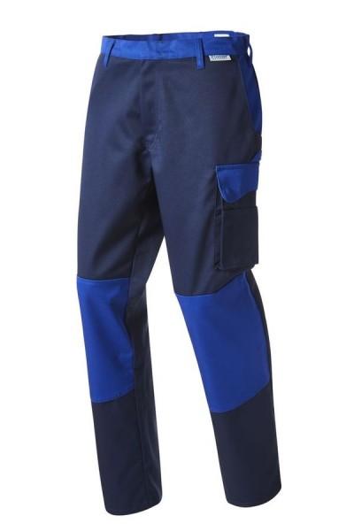 Pionier Workwear Color Wave Bundhose marine/kornblau vorne