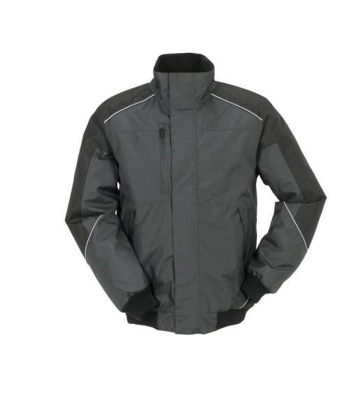 Planam Outdoor Desert Jacke grau/schwarz vorne