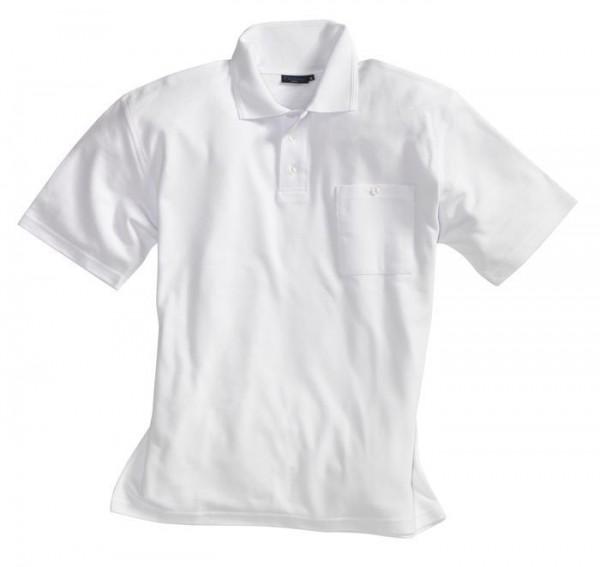 Pionier Poloshirt  1/2 Arm 70% Baumwolle weiß