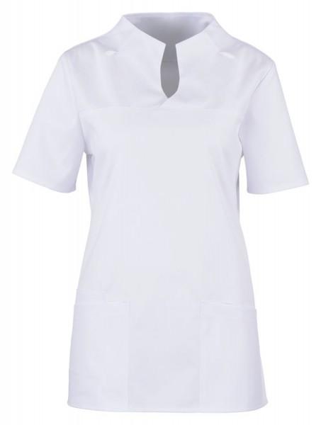 BEB Damenkasack - Stretchgewebe einfarbig weiß