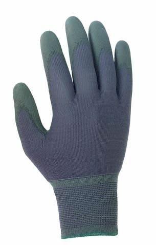 texxor Nylon-Strickhandschuhe grau